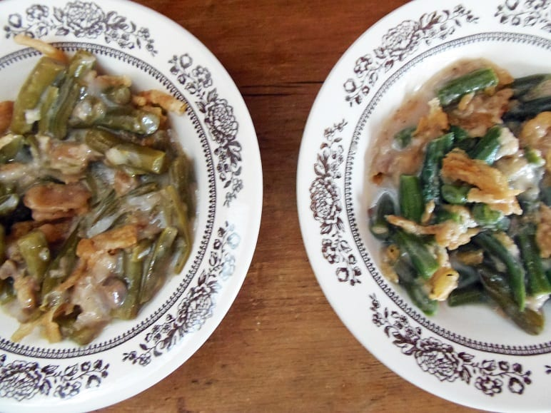 Green Bean Casserole - Canned Beans vs. Fresh Beans