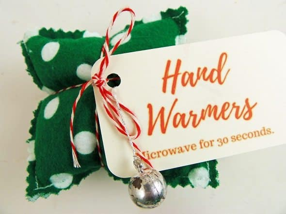 How to Make Hand Warmers with Ornament