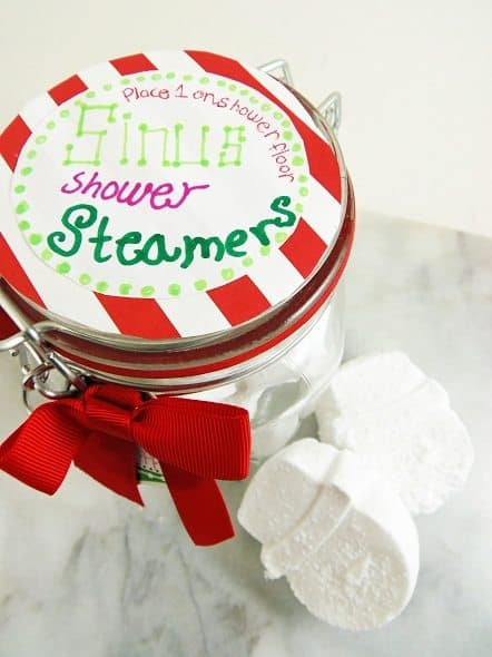 Jar of Shower Steamers