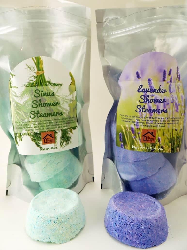 Packages of Shower Steamers