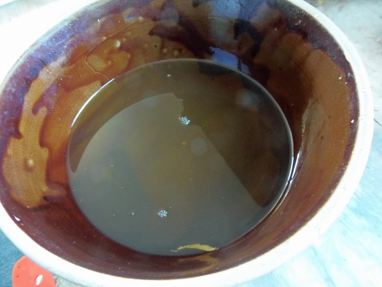 Water Strained From Pumpkin Puree