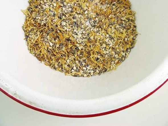 Calendula-Lavender Tub Tea