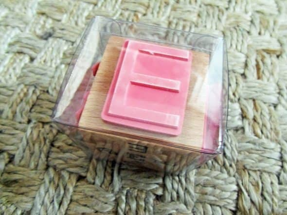 E Rubber Stamp