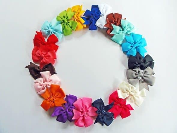 Hair Bow Wreath