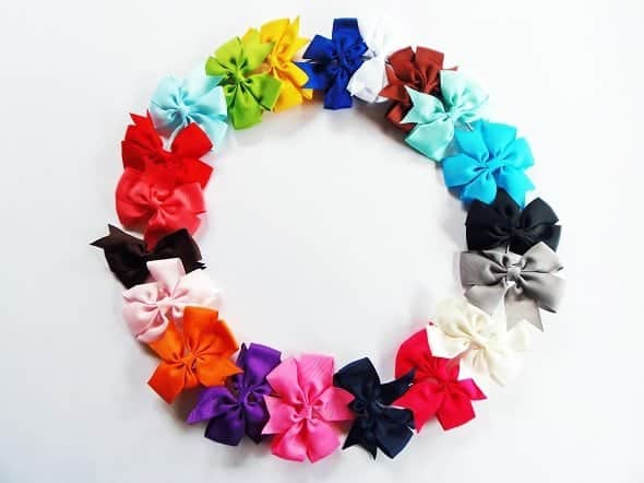 Make a Hair Bow Wreath