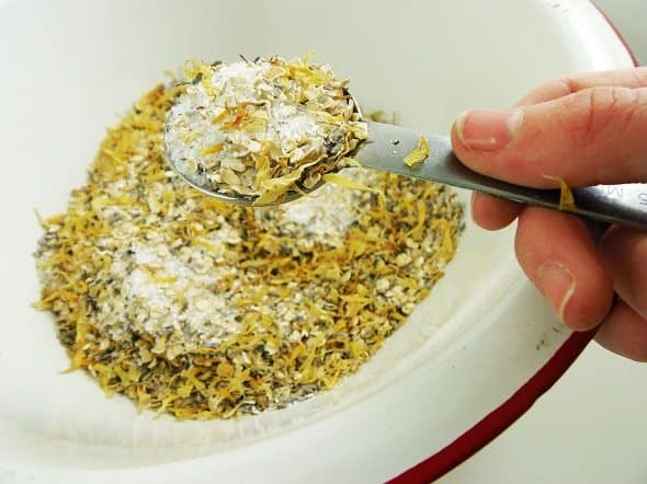 Measure Two Tablespoons of Tub Tea