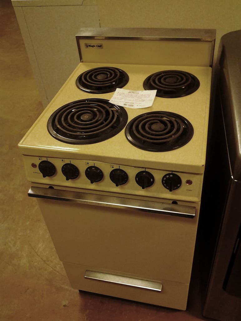 Apartment-Size Stove