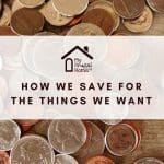 How We Save for the Things We Want Pin Graphic