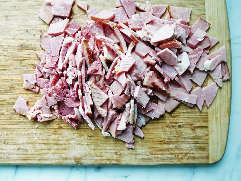 Roughly Chop the Ham