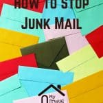 How to Stop Junk Mail Pin Graphic