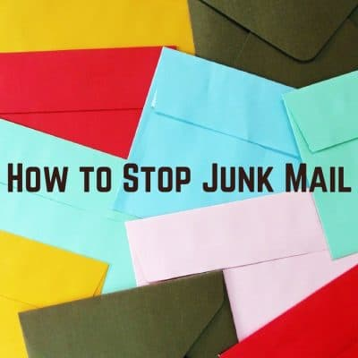 How to Put a Stop to Junk Mail