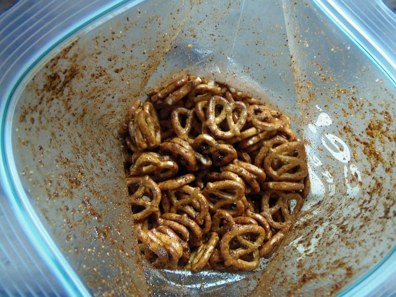 Taco-Seasoned Pretzels