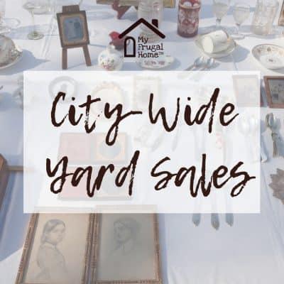 City-Wide Yard Sales