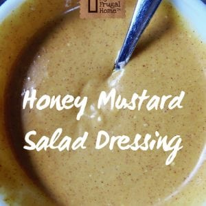 Honey Mustard Salad Dressing Pin Graphic