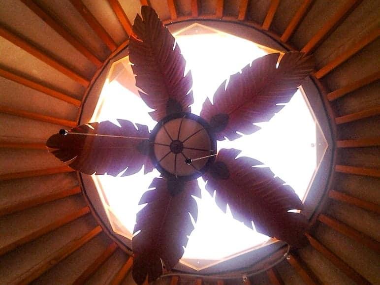 Ceiling of Yurt