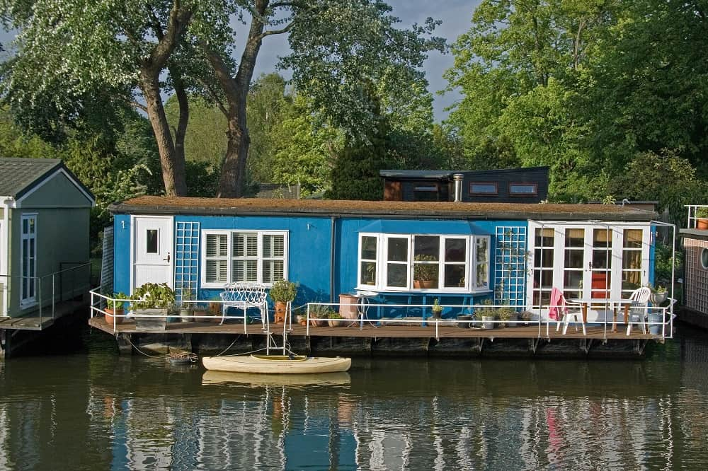 House Boat on a Canal