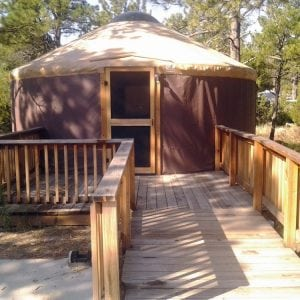 Places You Can Stay in a Yurt