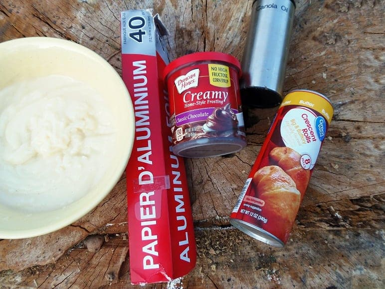 Campfire Eclairs Ingredients and Supplies