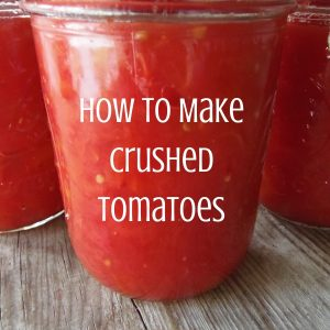 How to Make Crushed Tomatoes