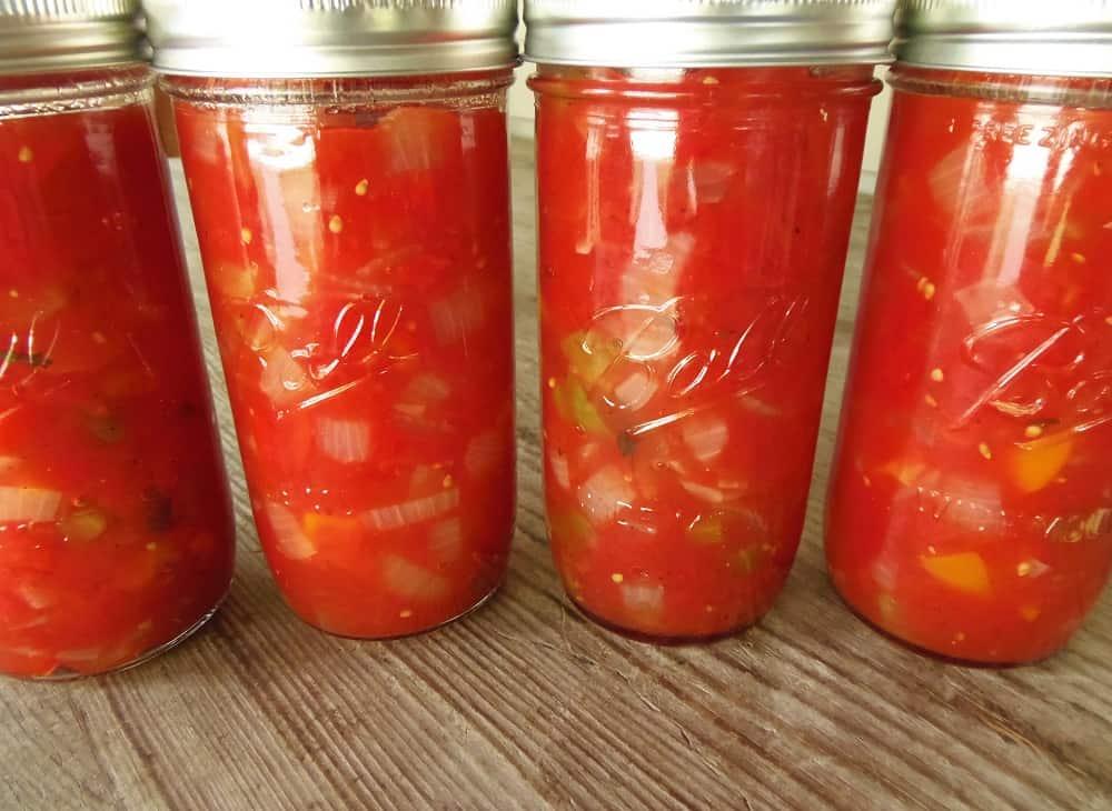 Homemade Stewed Tomatoes