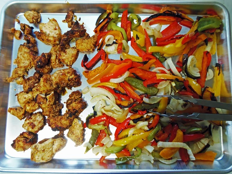 Chicken Sheet Pan Fajitas