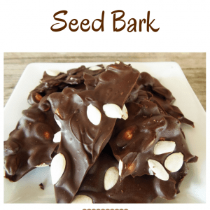 Roasted Pumpkin Seed Bark Pin Graphic