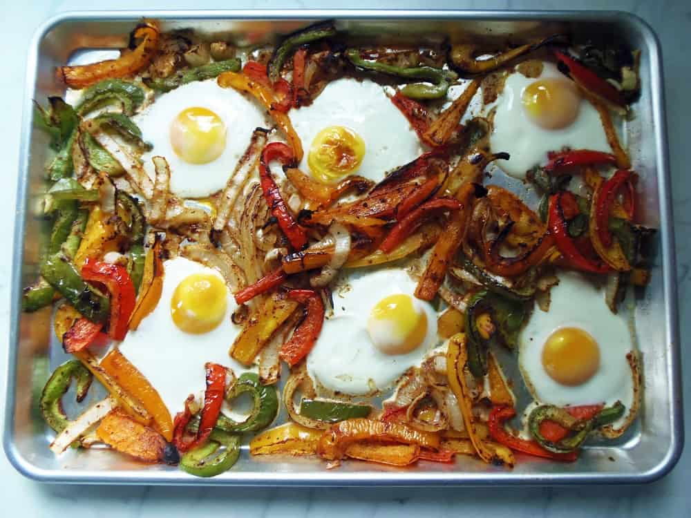 Sheet Pan Breakfast Fajitas