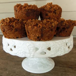 Three-Ingredient Pumpkin Muffins