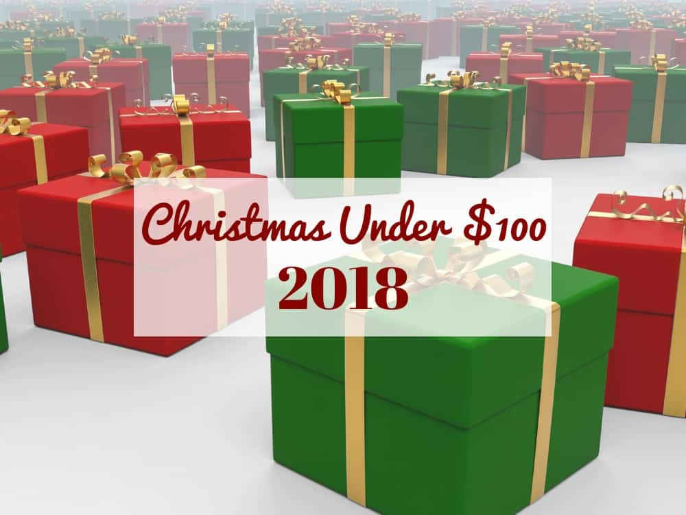 Christmas Under $100 2018 Graphic