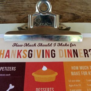 How Much Should I Make for Thanksgiving Dinner?