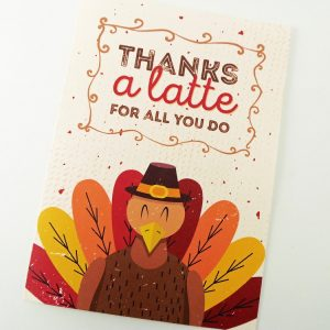 Printable Thanksgiving Thank You Card