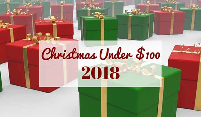Christmas Under $100 Graphic