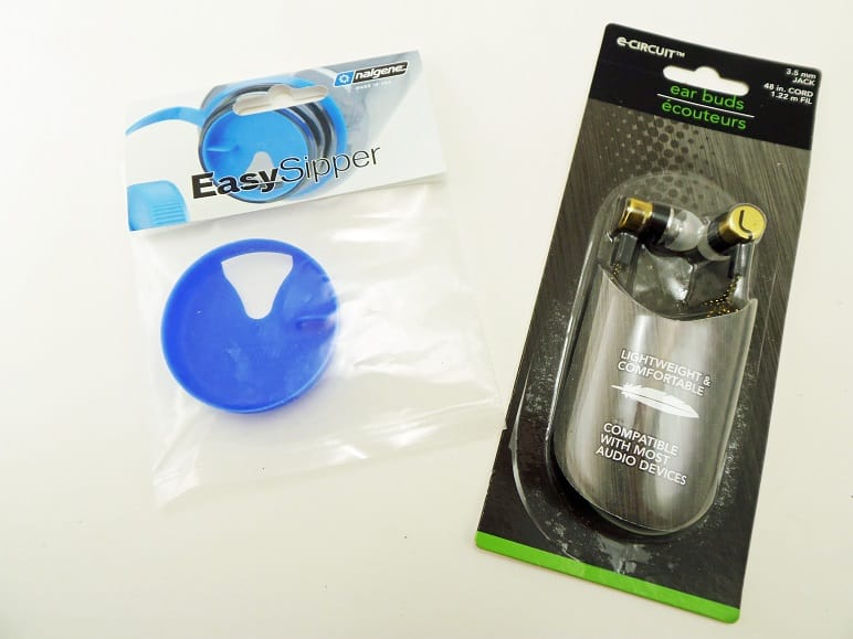 Earbuds and Easy Sipper Lid