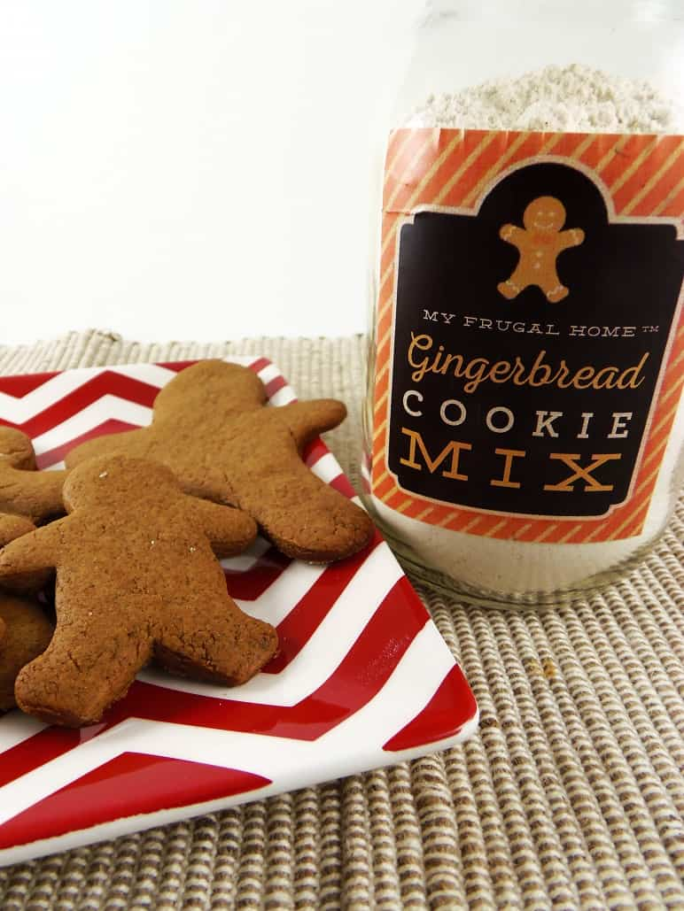 Gingerbread Cookie Mix and Gingerbread Cookies