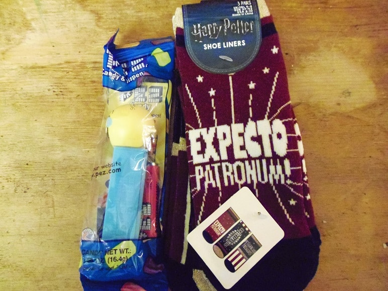Harry Potter Socks and Emoji Pez