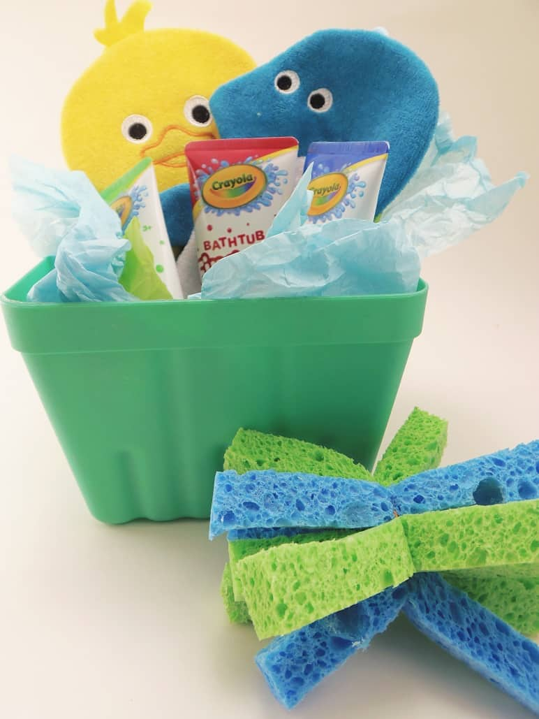 Kids Bath Gift Basket