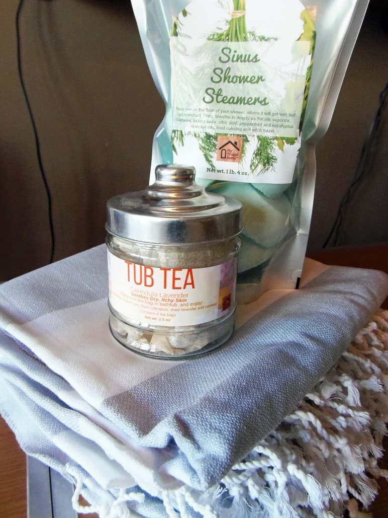 Turkish Towels, Shower Steamers and Tub Tea