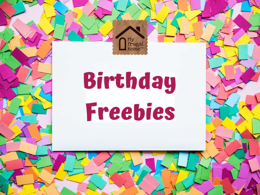 Birthday Freebies Graphic