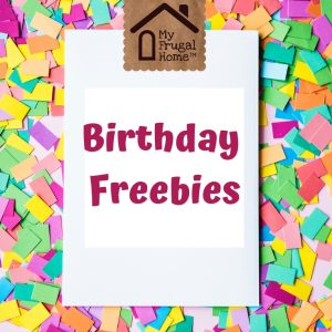 Birthday Freebies Pinterest Graphic
