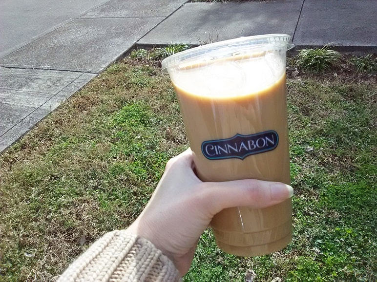 Cinnabon Iced Coffee Birthday Freebie