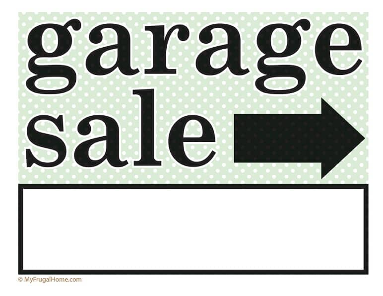 graphic regarding For Sale Sign Printable named Printable Backyard garden Sale and Garage Sale Symptoms