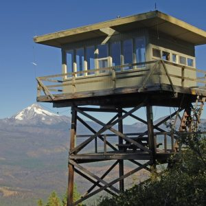 Places You Can Stay in a Fire Lookout Tower