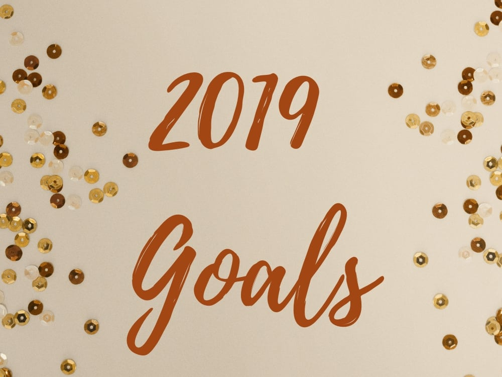 2019 Goals Post Graphic