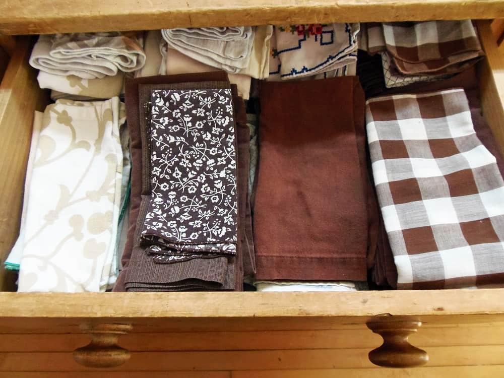 Drawer Full of Cloth Napkins
