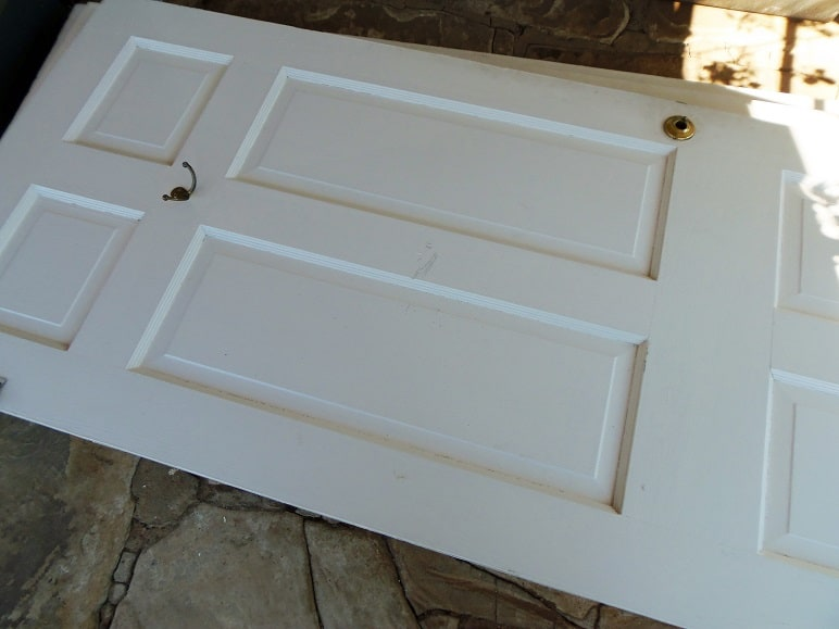 Three Wood Doors