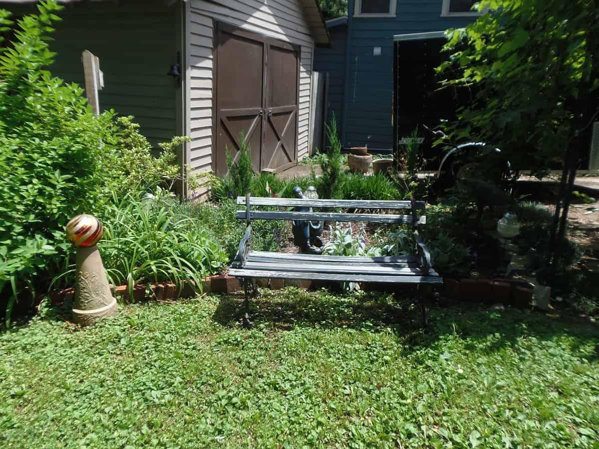 Relandscaped Garden Bed