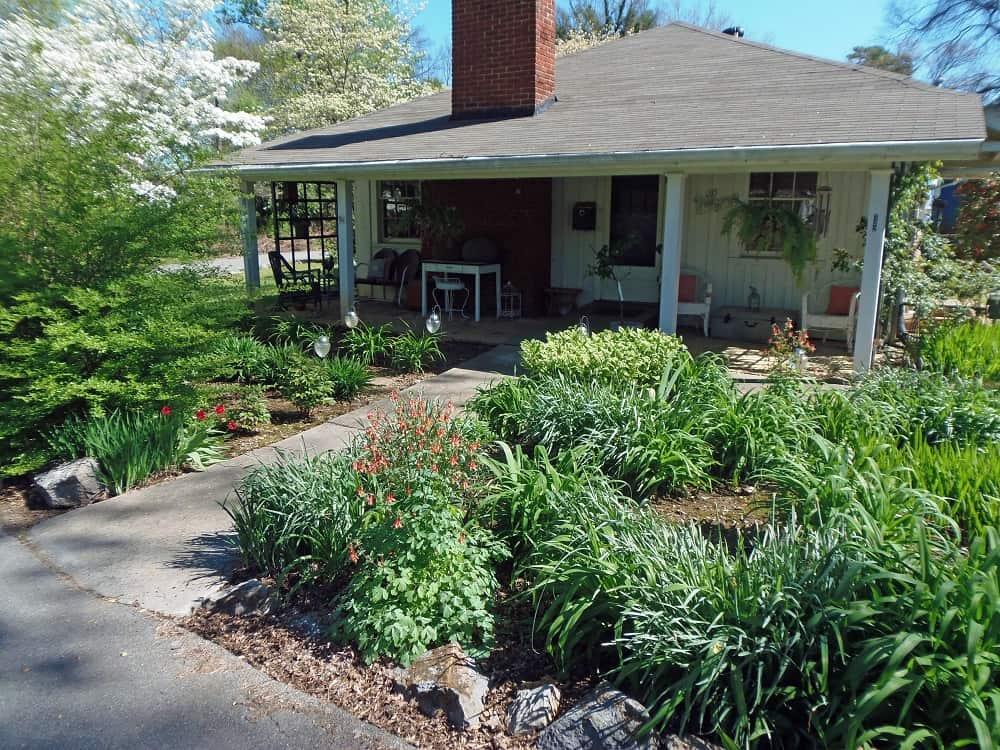 Office Side Garden - Spring