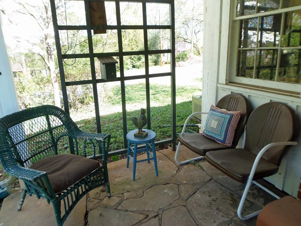 Second Seating Area on Side Porch