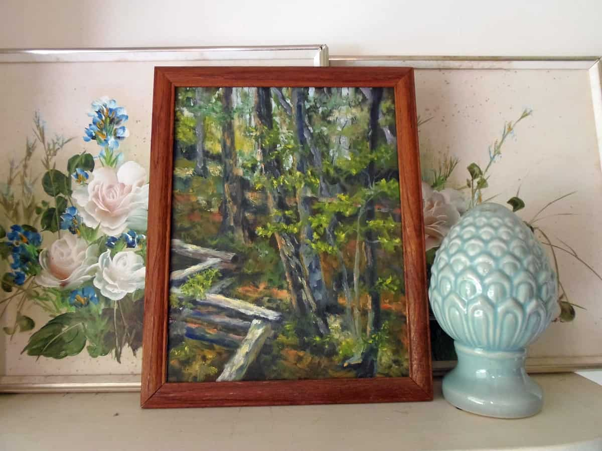 Original Floral and Landscape Acrylic Paintings