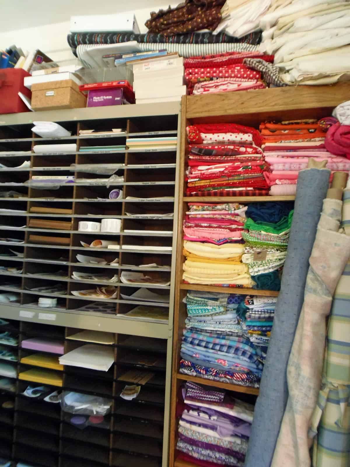 Paper and Fabric Collection